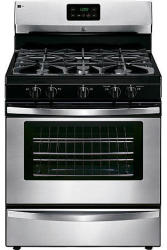 Kenmore Stainless Steel Gas Range for $364
