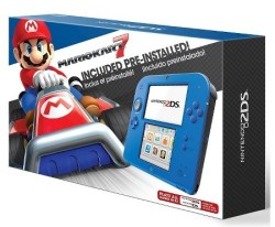 Nintendo 2DS Console w/ Mario Kart 7 for $80