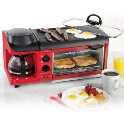 Open-Box Nostalgia Retro Breakfast Station for $49