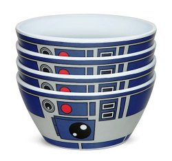 4 Star Wars R2-D2 Bowls for $8