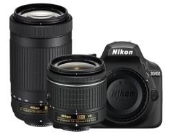 Nikon D3400 24MP DSLR Camera, 2 Lenses for $497