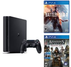 Sony PS4 Slim 500GB Battlefield 1 Bundle for $320