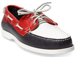 Polo Ralph Lauren Men's Team USA Boat Shoes