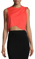 Nicole Miller Women's Cropped Tank Top for $63