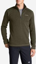 Eddie Bauer Men's Fleece Pullover (Big Sizes) $20