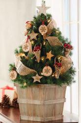 Harry & David Birch and Burlap Christmas Tree $38