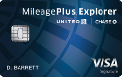 United MileagePlus® Explorer Card 50,000 miles
