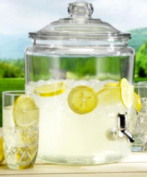 Anchor Hocking Heritage 2-Gallon Beverage Jar $15