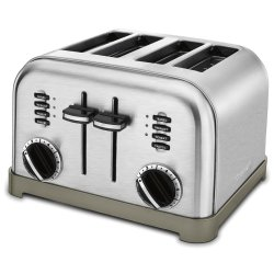 Cuisinart Metal Classic 4-Slice Toaster for $35