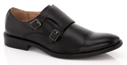 Franco Vanucci Men's Dress Shoes w/ Wallet for $35