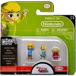 World of Nintendo Micro Land Mini-Figure 3pk $3