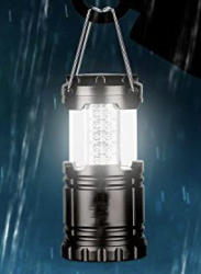Collapsible COB LED Camping Lantern for $10