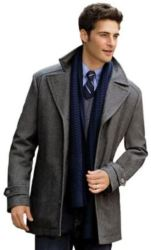 Jos. A. Bank Men's 3/4 Length Car Coat $129