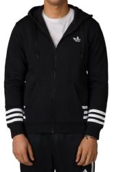 adidas Men's Street Graphic FL Zip Hoodie for $32