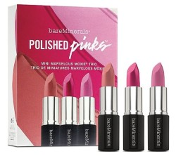 BareMinerals Polished Pinks Lipstick Pack for $7 + free shipping