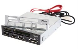 "Rosewill 3-Port 3.5"" 75-in-1 SATA Card Reader $0"