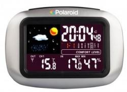 Polaroid Wireless Weather Station Clock for $25