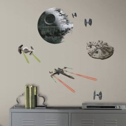 21 RoomMates Star Wars Wall Decals