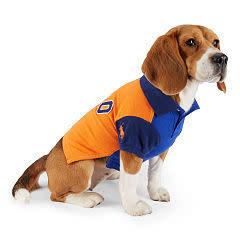 Ralph Lauren Pet Color-Blocked Dog Polo