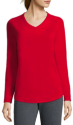 Made For Life Women's Brushed Fleece Pullover $5