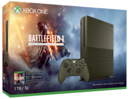 Xbox One S Console w/ Game, Xbox Live Sub from $299 + free shipping