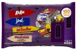 Hershey's Halloween Chocolate 100pc Bag for $7 + free shipping w/ Prime