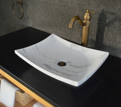 "Living'Roc 18"" Marble Bathroom Sink for $298"