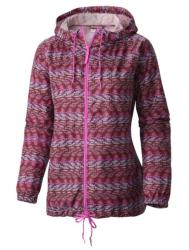 Columbia Women's Printed Windbreaker Jacket $25