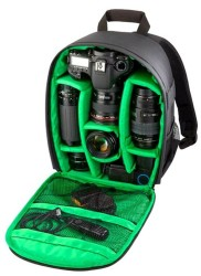 Durable Waterproof DSLR Camera Backpack for $17