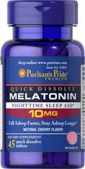 5 Puritan's Pride Melatonin 45-Pack Bottles $20