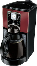 Mr. Coffee 12-Cup Coffeemaker for $30