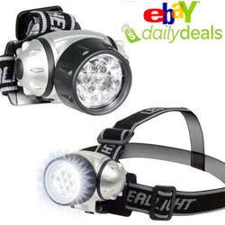 7-LED Headlamp 2-Pack