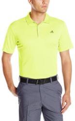 adidas Men's Climacool Golf Polo Shirt for $17