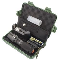 X800 Zoomable XML T6 LED Flashlight Set $12