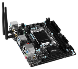 MSI Gaming Pro Mini ITX Motherboard w/ Game $70