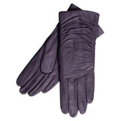 Grandoe Women's Cashmere-Lined Leather Gloves $17