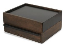 Umbra Wooden Stowit Jewelry Box for $36