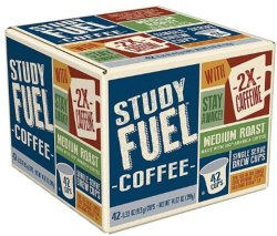 Study Fuel K-Cup Medium Roast 42-Pack for $10