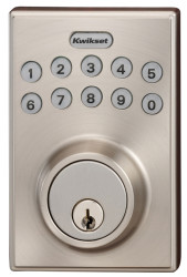 Kwikset 264 SmartCode Motorized Deadbolt for $39