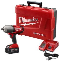 "Milwaukee 18V 1/2"" Impact Wrench w/ Battery $249"