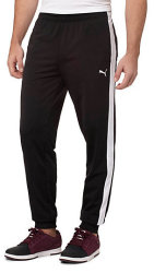 PUMA Men's Contrast Cuffed Pants for $12