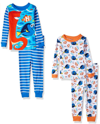 Disney Toddler Finding Dory 4pc Pajama Set for $7