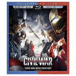 Captain America: Civil War on 3D Blu-ray