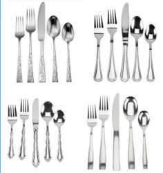 Anchor Hocking 20pc Flatware at Oneida: 70% off