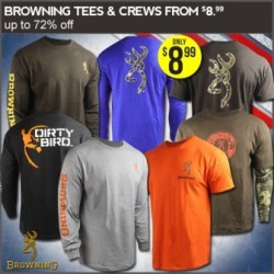 Browning Shirts at Field Supply from $9