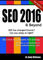 """SEO 2016 & Beyond"" Kindle eBook for free"