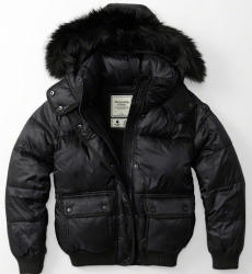 Abercrombie & Fitch Women's Puffer Jacket for $26
