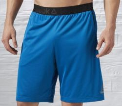 Reebok Men's Workout Ready Stacked Shorts for $14