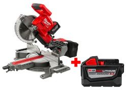 "Milwaukee 18V 10"" Compound Miter Saw Kit for $493"