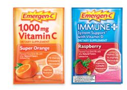3 Emergen-C Supplement Drink Mix Samples for free